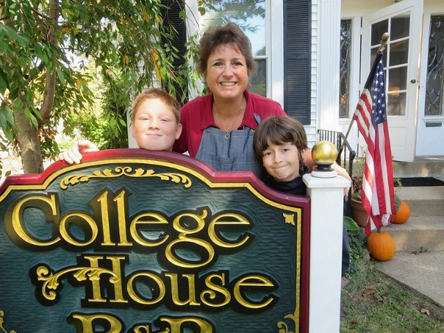 Innkeepers of College House B&B